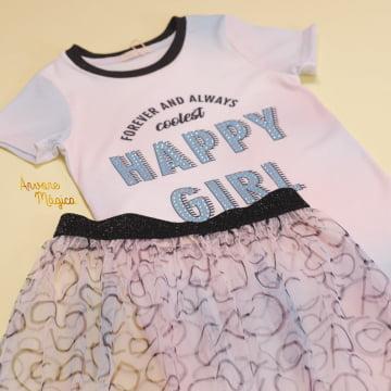 Vestido Infantil Forever and Always Coolest Petit Cherie