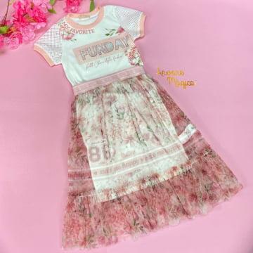 Vestido Infantil Fun Day Petit Cherie