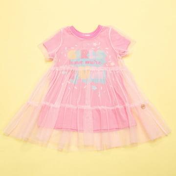 Vestido Infantil Girls Fun Mon Sucré