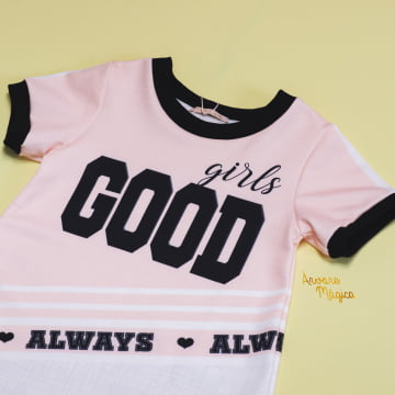 Vestido Infantil Good Girls Petit Cherie