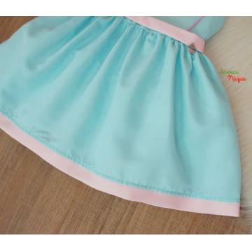 Vestido Infantil Tiffany Laço Mon Sucré