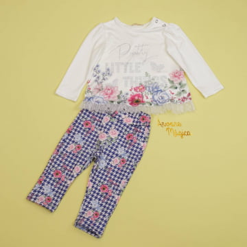 Conjunto para bebê Pretty Little Things Petit Cherie
