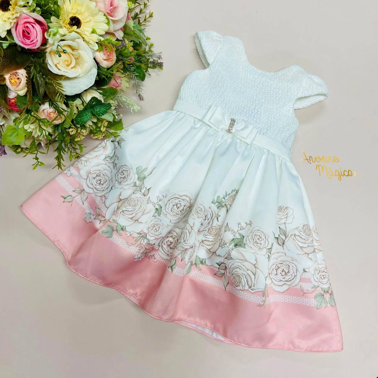 Vestido de Festa Infantil Cloe Petit Cherie