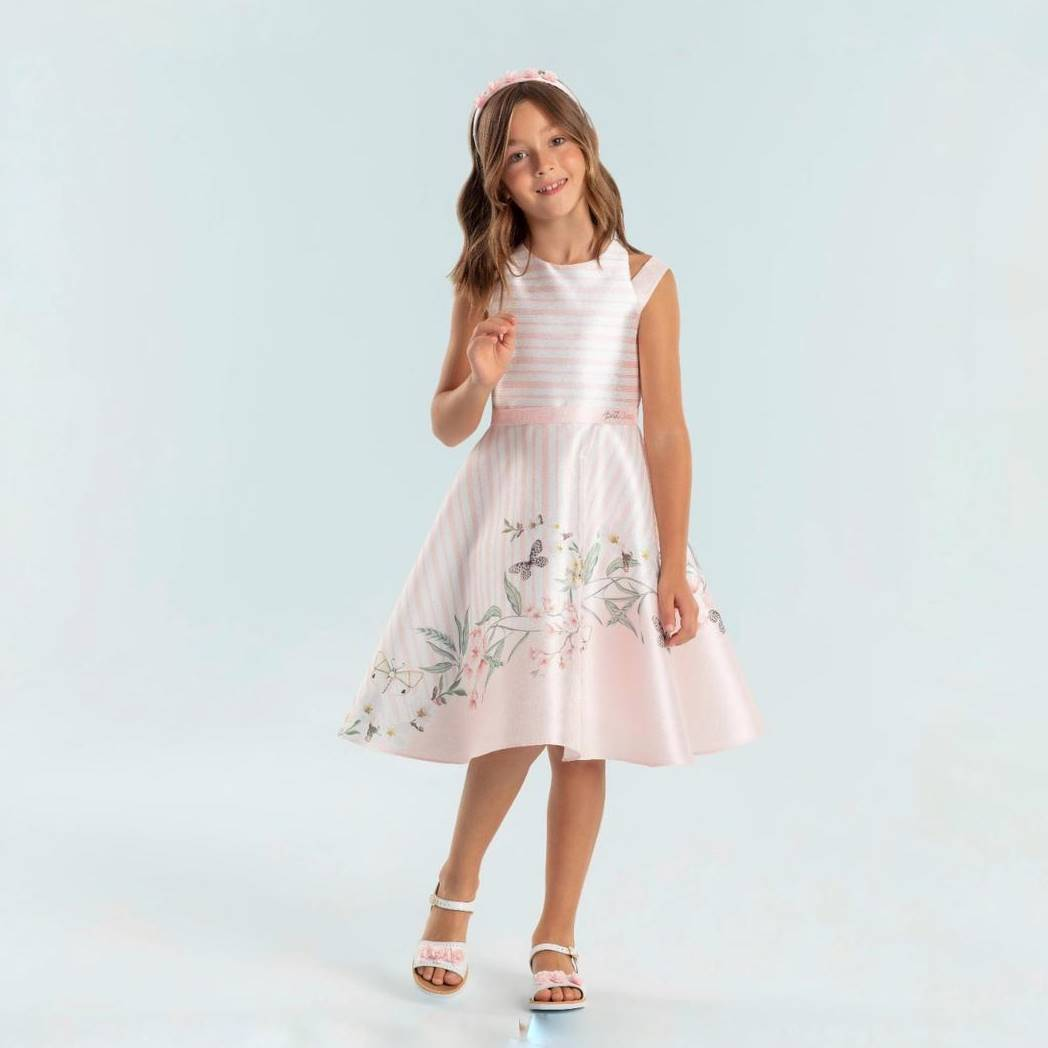 Vestido de Festa Infantil Jasmim Petit Cherie