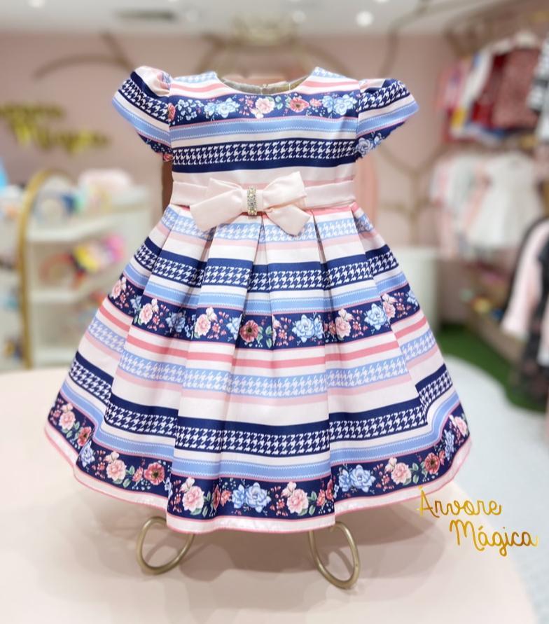 Vestido de Festa para bebê Luna Petit Cherie
